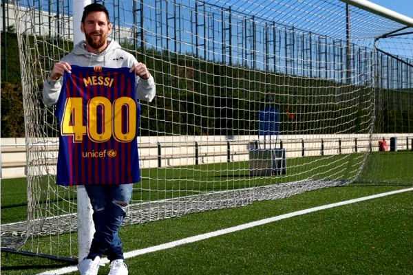 400 goles inalcanzables