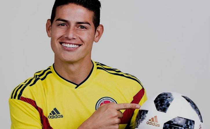 James Rodríguez cuenta cuáles son los mejores futbolistas colombianos de la historia