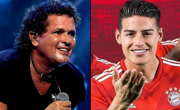 James Rodríguez envía regalo a Carlos Vives y el cantante responde con emotivo mensaje