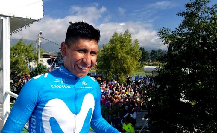 Nairo Quintana ocupa el tercer lugar como el ciclista activo con más palmarés