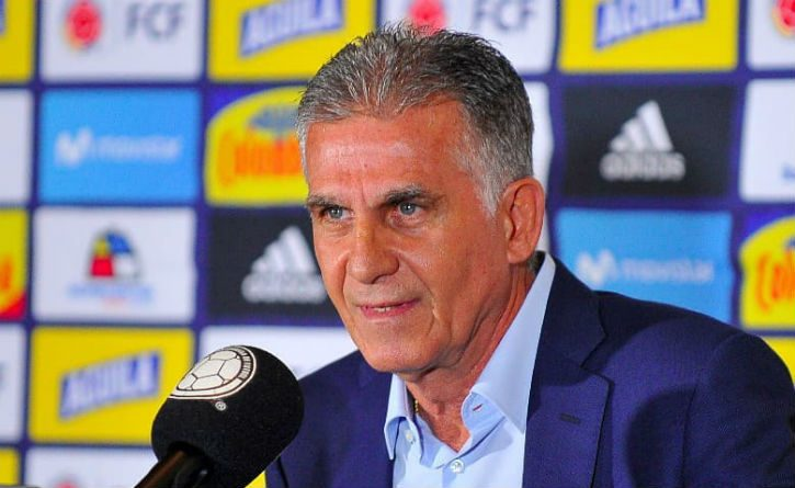 Carlos Queiroz quiere a la Selección Colombia viajando a Europa