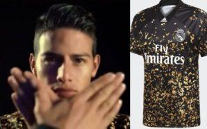James Rodríguez, protagonista en lanzamiento de nueva camiseta de Real…