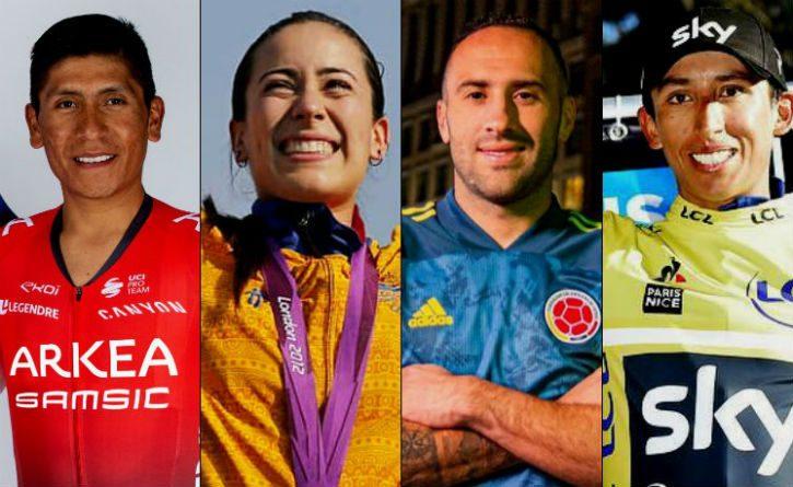 Así está el 2020 para estos deportistas colombianos