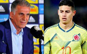 Carlos Queiroz lanza fuerte advertencia a James Rodríguez