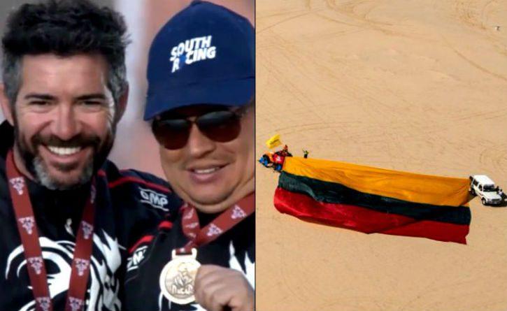 Otro triunfo para Colombia, estos colombianos cruzaron la meta en el Rally Dakar 2020