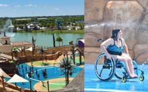 Así funciona el primer parque acuático para discapacitados: el camino…
