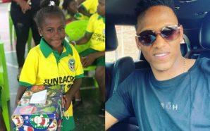 Everton exalta el trabajo social de Yerry Mina con su fundación para niños