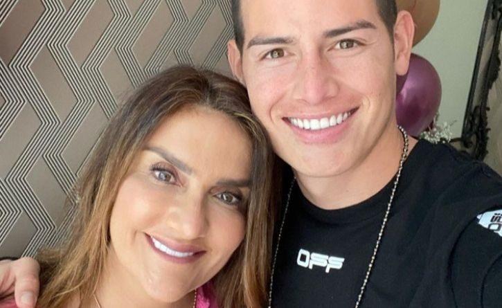 En medio del COVID-19, así celebra James Rodríguez el cumpleaños de su mamá