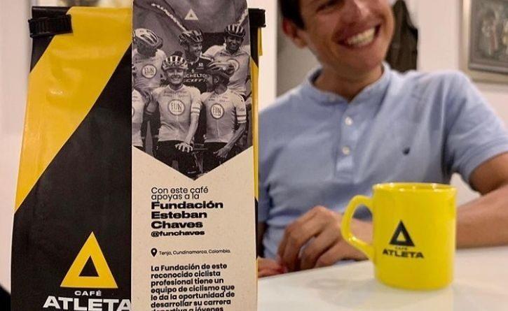 Cómo apoyar a Esteban Cháves y más deportistas colombianos con una bolsa de café