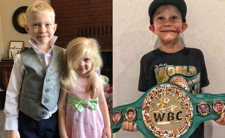 Declaran a niño campeón mundial de boxeo por salvar a su hermana de ataque casi mortal