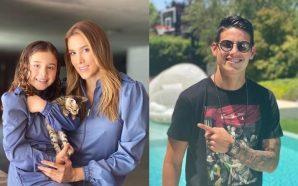 Daniela Ospina y Salomé visitan a James Rodríguez en plena…