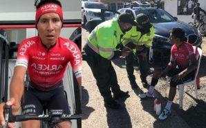Nairo Quintana sufre accidente en Boyacá por culpa de un…