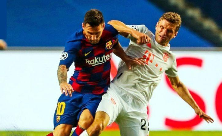 Los ocho: la humillación a Lionel Messi en la Champions