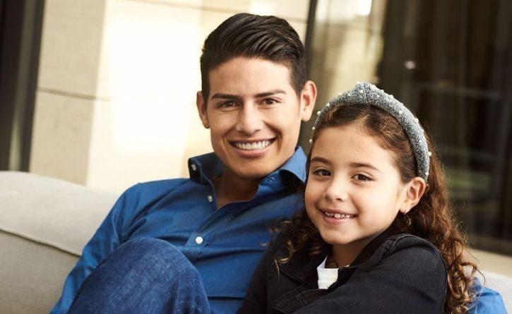 El logro de la hija de James Rodríguez con apenas 8 años de edad