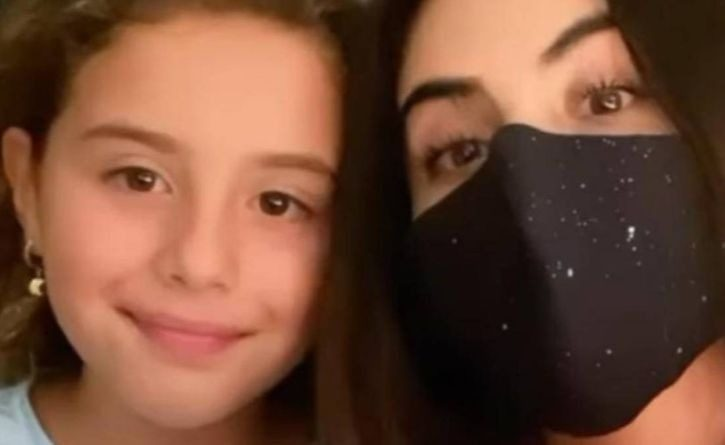 Hija de James comparte con Jessica Cediel después de que saliera enferma de COVID-19