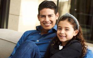 James y Daniela enseñan a su hija a hacer los…