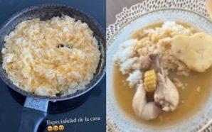 Con un arroz con huevo, Daniela Ospina borró el sudado…