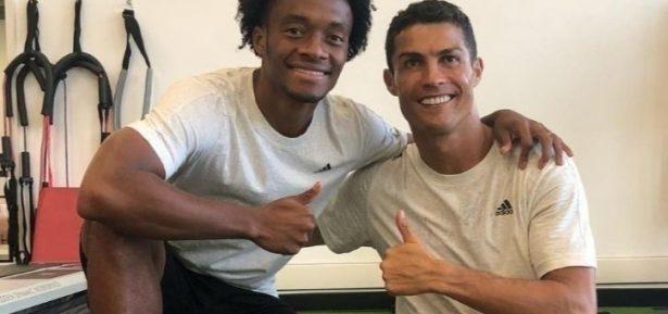 Compañero de Cuadrado en Juventus envía mensaje de apoyo a un juvenil colombiano
