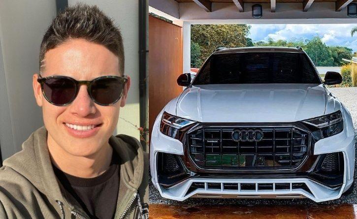 Los automóviles de James Rodríguez: puro lujo sobre ruedas