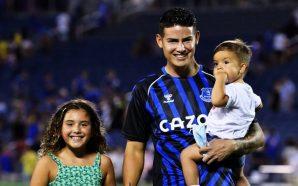 El reinado de los hijos de James Rodríguez estaría por…
