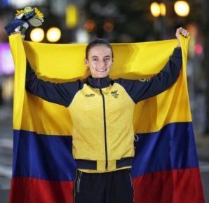 Lorena Arenas soportó puños, patadas y pellizcos para ganar la medalla de plata